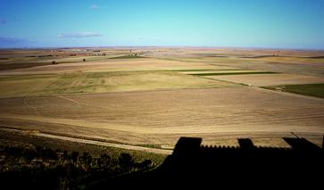 Kastilien-Léon Landschaft Burgen