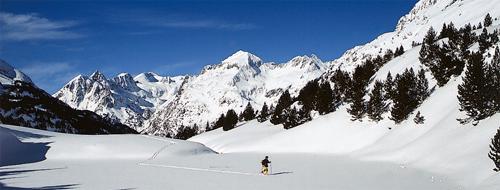 Winter in Aragonien