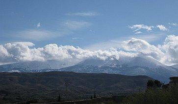 Bergblick von Taragona aus