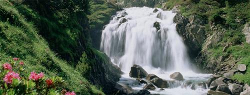 Wasserfall in Aragonien