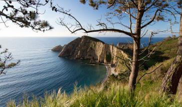 La Playa del Silencio, Castañeras, Asturien