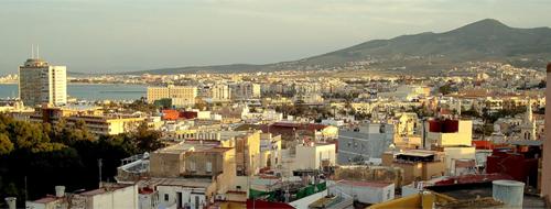 Melilla Stadt Panorama