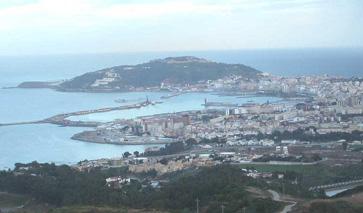 spanische Exklave Ceuta
