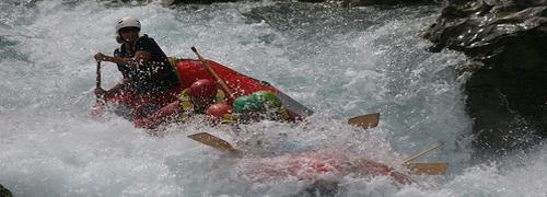 Wildwasser Kajakfahren in Palencia