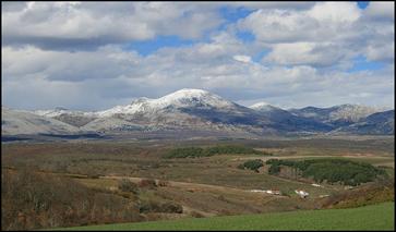 Landschaft Provinz Palencia