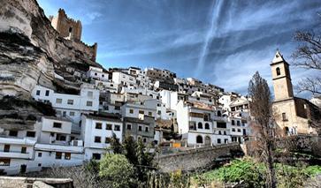Bergdorf in der Provinz Albacete