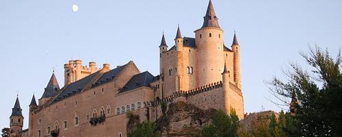 maurische Burganlage Provinz Segovia