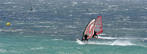 Windsurfen an der Costa Blanca