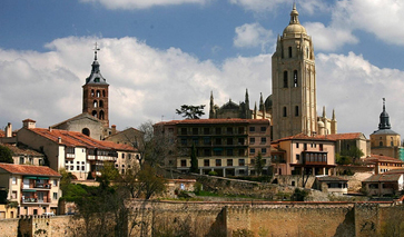 gothische Kathedrale Provinz Segovia
