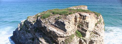 Strand in der Provinz Lugo