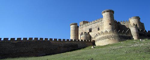 Architektur Hügel Festung