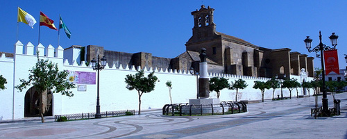 Kloster Moguer Stadt