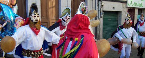 Traditionelles Maskenfest in Xinzo da Limia