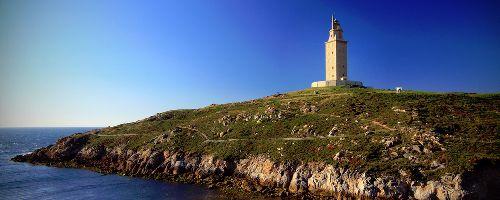 Torre de Hercules in La Coruña