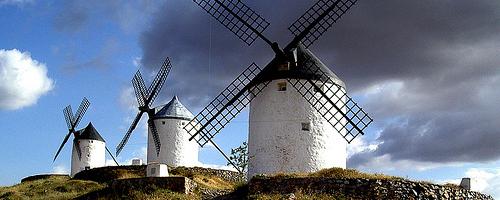 Windmühlen in Consuegra