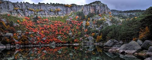 Der 'Schwarze See' in der Provinz Soria