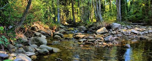 Flussbett des Tiétar in Ávila