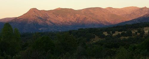 Abendstimmung im Naturpark Sierra de Gredos
