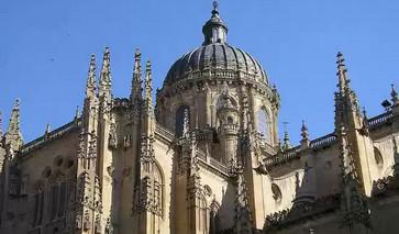 Kathedrale in der Stadt Salamanca