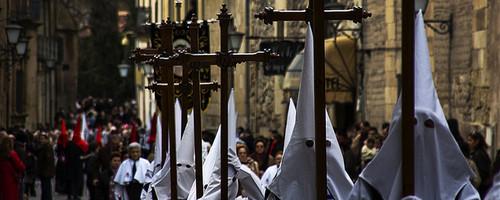 Semana Santa Prozession in Salamanca
