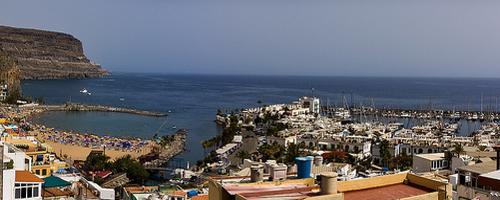 Idyllische Hafenpromenade in Puerto de Mogán