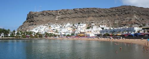 Strandabschnitt auf Gran Canaria