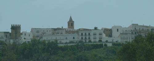 Blick auf das Weiße Dorf Vejer de la Frontera