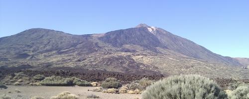 Der Pico del Teide auf Teneriffa